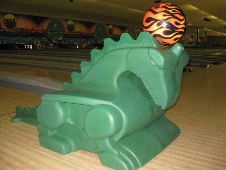 Bowling Dragon Ramp